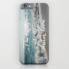 The Beach is My Dream Home iPhone 6 Slim Case