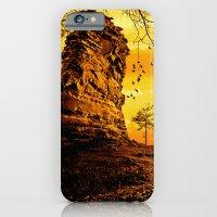 Golden nature iPhone 6 Slim Case