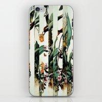 Flowr_01 iPhone & iPod Skin