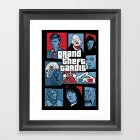 Grand Theft Tardis Ten Framed Art Print