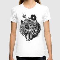 panda T-shirts featuring Panda by Feline Zegers
