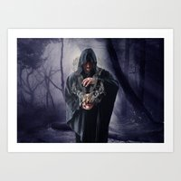 The Sounds Of Silence Art Print