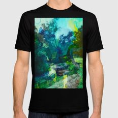No Relief Mens Fitted Tee Black SMALL