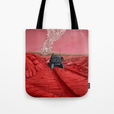 Green Mars Tote Bag