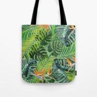 Jungle Tangle Paradise  Tote Bag