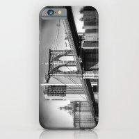 Brooklyn Bridge In B&W iPhone 6 Slim Case