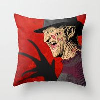 FK Throw Pillow
