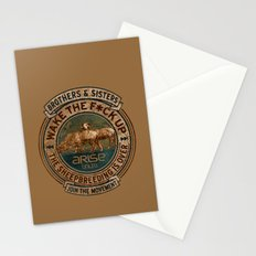 the awaken sheep Stationery Cards