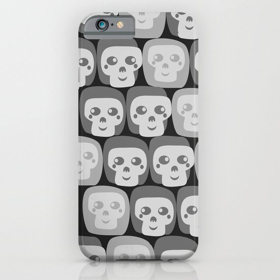 Boo - Skulls Pattern iPhone & iPod Case
