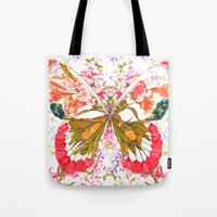 PAINTED BUTTERFLY Tote Bag