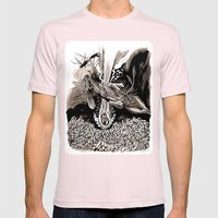 A dream of plague dogs Mens Fitted Tee Light Pink SMALL