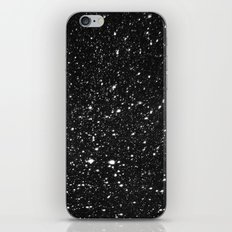 Snowflakes In the Night iPhone & iPod Skin