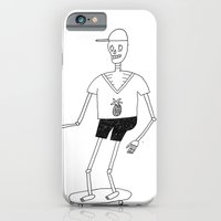 skeleton iPhone & iPod Cases featuring skeleton by Astro Nascha