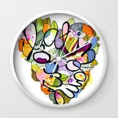 Latinoamérica LOVE Wall Clock