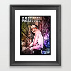 Street Phenomenon Aaliyah Framed Art Print