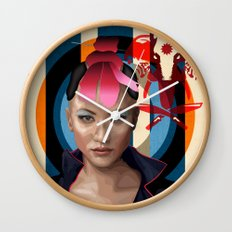 Queen of Darkness Far Cry 4 -  Yuma Wall Clock
