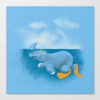 RhinosharK Canvas Print