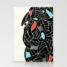 - face for the storm - Stationery Cards