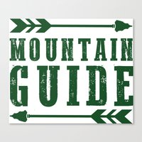 Mountain Guide  Canvas Print