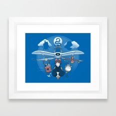 Flight of the Imagination Framed Art Print
