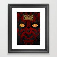 Clone Wars Framed Art Print
