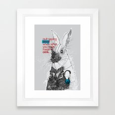 Politics Framed Art Print
