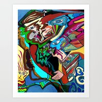 Aura of the Musical Messhiach Art Print