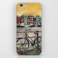 Going Dutch (blue) iPhone & iPod Skin