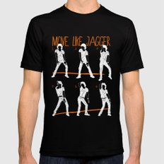 Move Like Jagger 2 SMALL Black Mens Fitted Tee