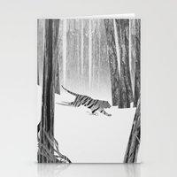 Martwood Tiger Stationery Cards