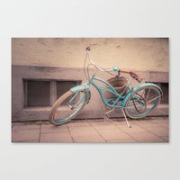 modern retro Canvas Print