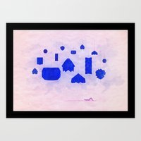 Under Origami Skies Art Print