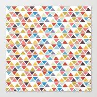 Triangle Love Canvas Print