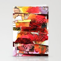 comic strips 3 Stationery Cards