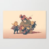 Avengers Assemble Canvas Print