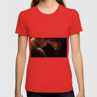 Prelude Womens Fitted Tee Red SMALL