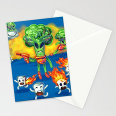 Veggie Attack Stationery Cards