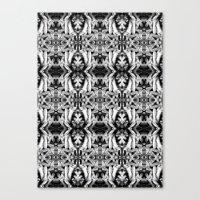 Tentacles Pattern Canvas Print