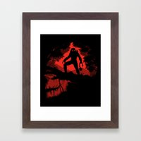 Jungle Hunter Framed Art Print