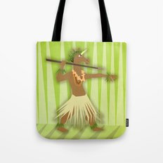 Hawaiian Hunter Unicorn Tote Bag
