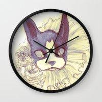Logan Sketch Wall Clock
