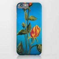 Tahitian Sunset Rose Bud… iPhone 6 Slim Case