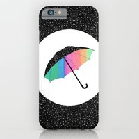 iPhone & iPod Case featuring umbrella by Luna Portnoi