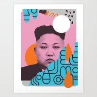 Kim Jong Fun! Art Print