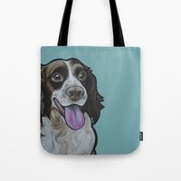 Bea The Springer Spaniel Tote Bag