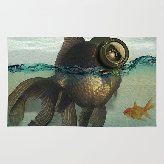 Fish eye lens Area & Throw Rug