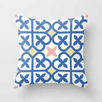 Floor Tile 3 Throw Pillow