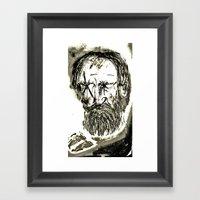 Bernard Shaw Framed Art Print
