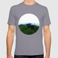 Bear Mountain Mens Fitted Tee Slate SMALL