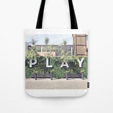 P L A Y  Tote Bag